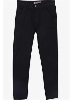 Jack Lions Erkek Çocuk Gabardin Pantolon Basic Siyah
